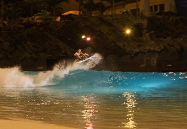 Owen Wright Surfing Ocean Dome Wave Pool | Wave Park | Surf Park | Surf Pool