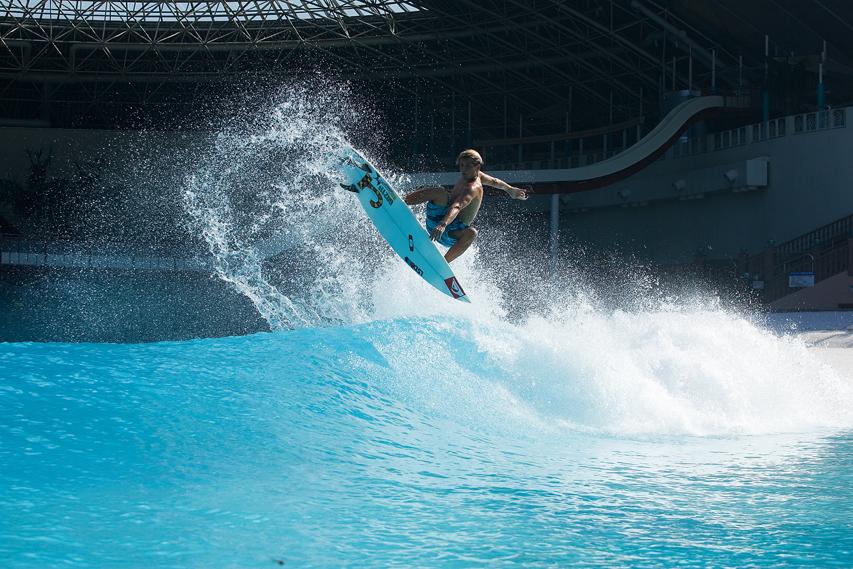 Julian Wilson Ocean Dome Wave Pool Air | Surf Park Central
