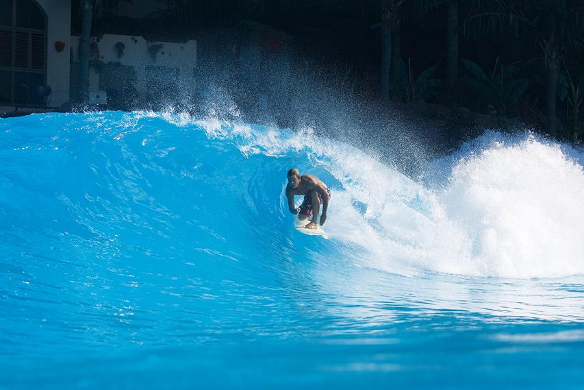 Ocean Dome Wave Pool Barrel | Surf Park Central