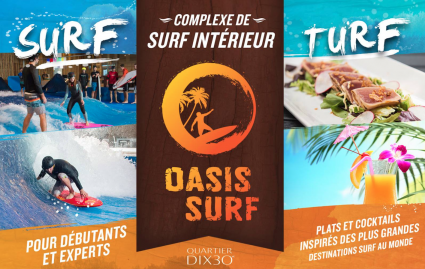 Oasis Surf and Turf | Surf Park Central