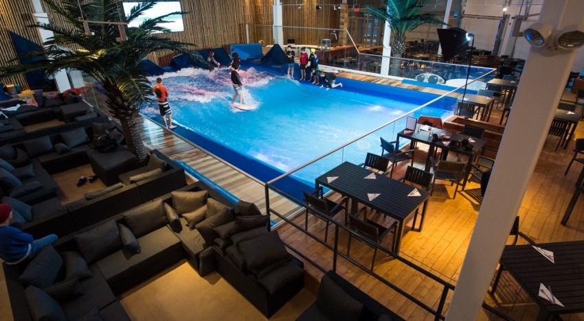 Oasis Surf Indoor View | Surf Park Central