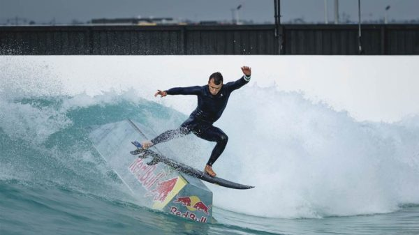 Julian Wilson Rail Surfing URBNSURF Melbourne